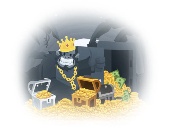 bitkong bitcoin game bonus free money chest monkey corona