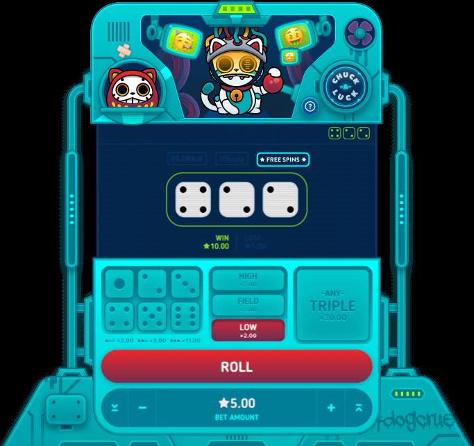 luckydice dice game